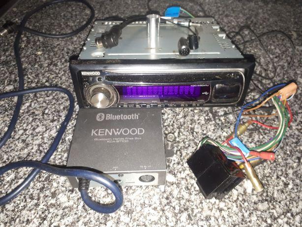 Auto rádio Kenwood / Atendedor Chamada
