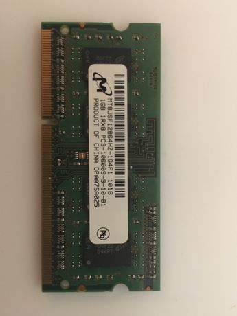 Micron SO-DIMM DDR3 1Gb, PC3-10600 1333MHz