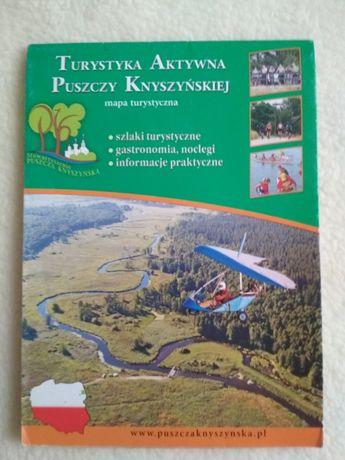 Mapa turystyczna Turystyka Aktywna Puszczy Knyszyńskiej
