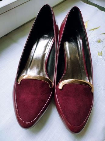 Туфлі жіночі шкіряні лаковані