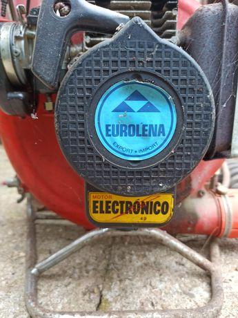 Atomizador a gasolina: máquina de sulfatar a funcionar