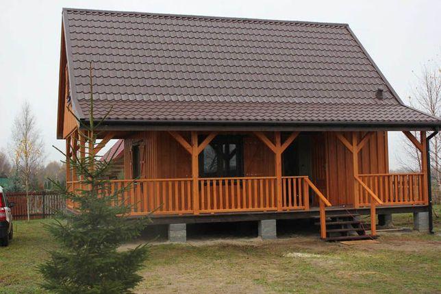 Domy drewniane, domy z drewna, szkieletowe, całoroczne, letniskowe dom