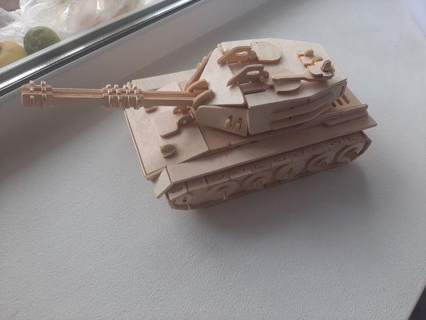 Деревянный Танк конструктор