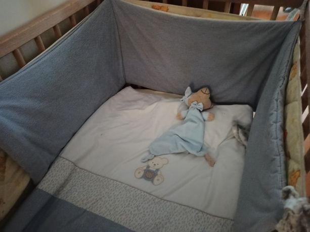 Protecção cama de grades