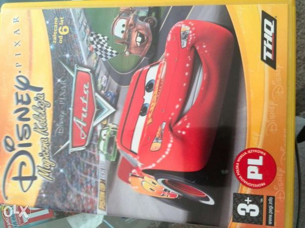 Gra PC z bajki Cars