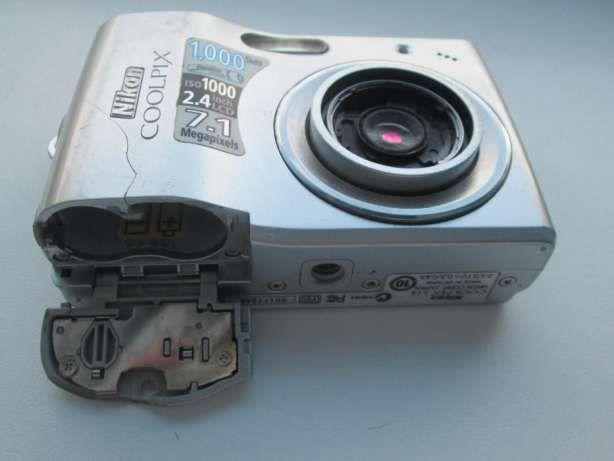 Фотоапарат Nikon Coolpix L14 7,1Mpx робочий із дефектами
