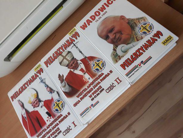 Pielgrzymka Ojca Świętego Jana Pawła II w Polsce w 1999 r. tasma VHS