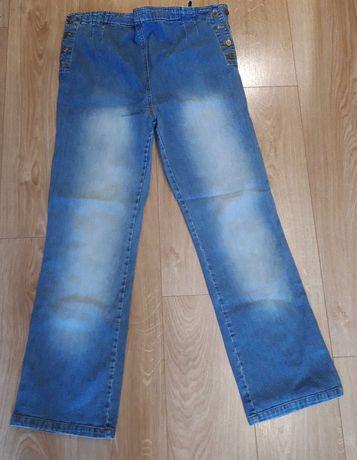 Spodnie ciążowe dżinsowe rozmiar XL