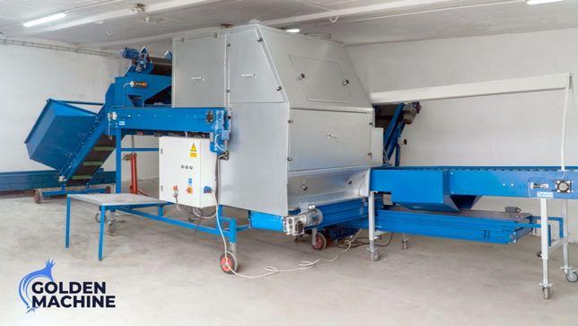 Maszyna do obierania cebuli z obcinarką bez sortowania GOLDEN MACHINE