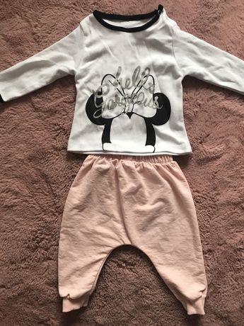 Komplet spodnie bluzka dla dziewczynki