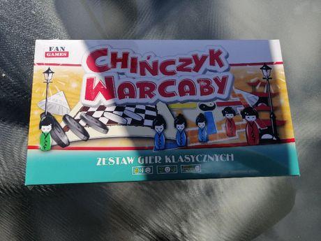 NOWA gra 2w1 warcaby i chińczyk