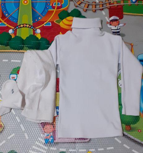 Набор на утренник в идеале белая водолазка белые колготы