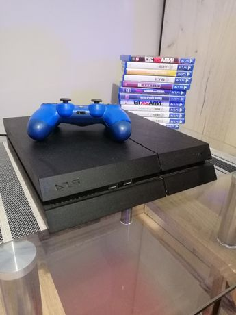 PlayStation 4 PS4 1 TB Gry + Pad