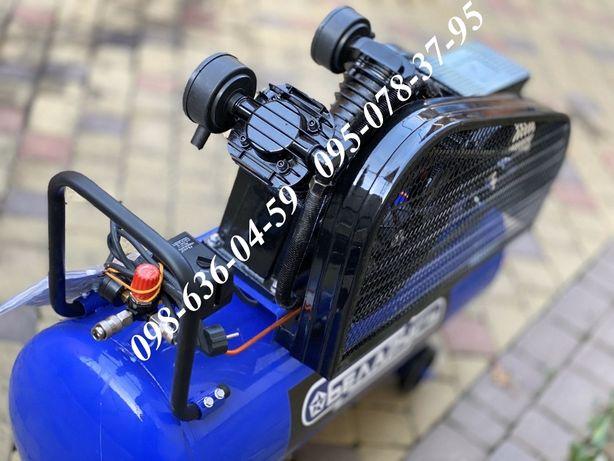 Компресор Беларусь 100л 3.8кВт 670л/хв ременной воздушный компрессор