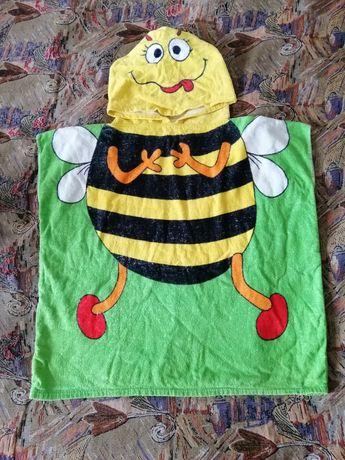 Продам махровое полотенце пончо