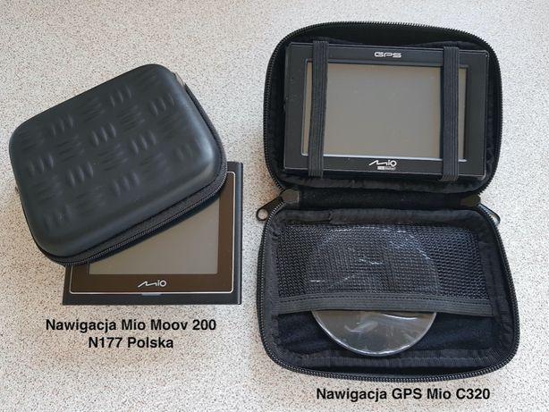 Komplet - nawigacja GPS Mio C320 + nawigacja Mio Moov 200 N177