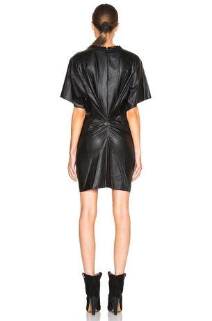 sukienka Isabel Marant 34 eko skóra
