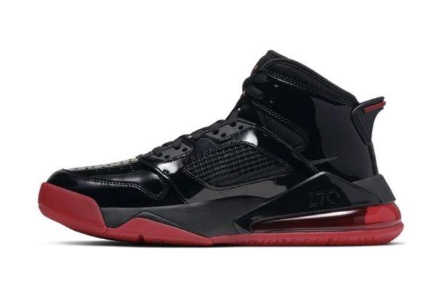 Jordan Mars 270 r.43 (Black Anthracite-Gym Red)
