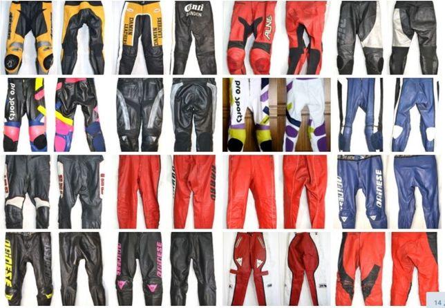 Чорнопятничная распродажа кожаных мото штанов