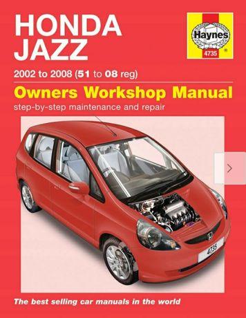Honda Jazz II książka napraw Haynes