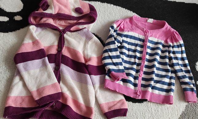 Dwa sweterki H&M Lupilu 80