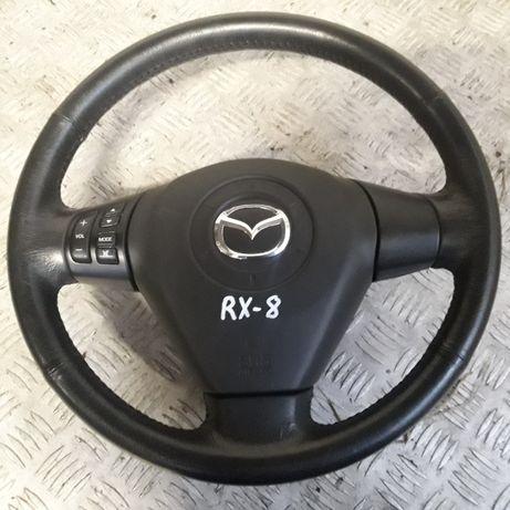 Mazda RX-8,kierownica z poduszką powietrzną