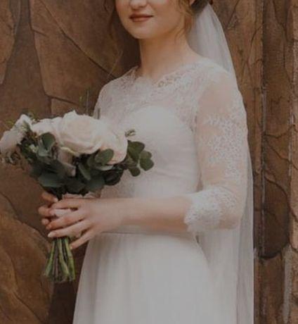 Свадебное платье!