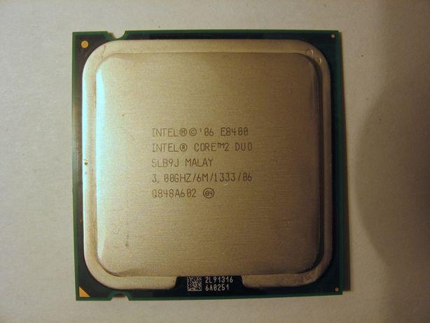 Процессор Intel Core 2 Duo E8400 3.0GHz 1333 MHz FSB