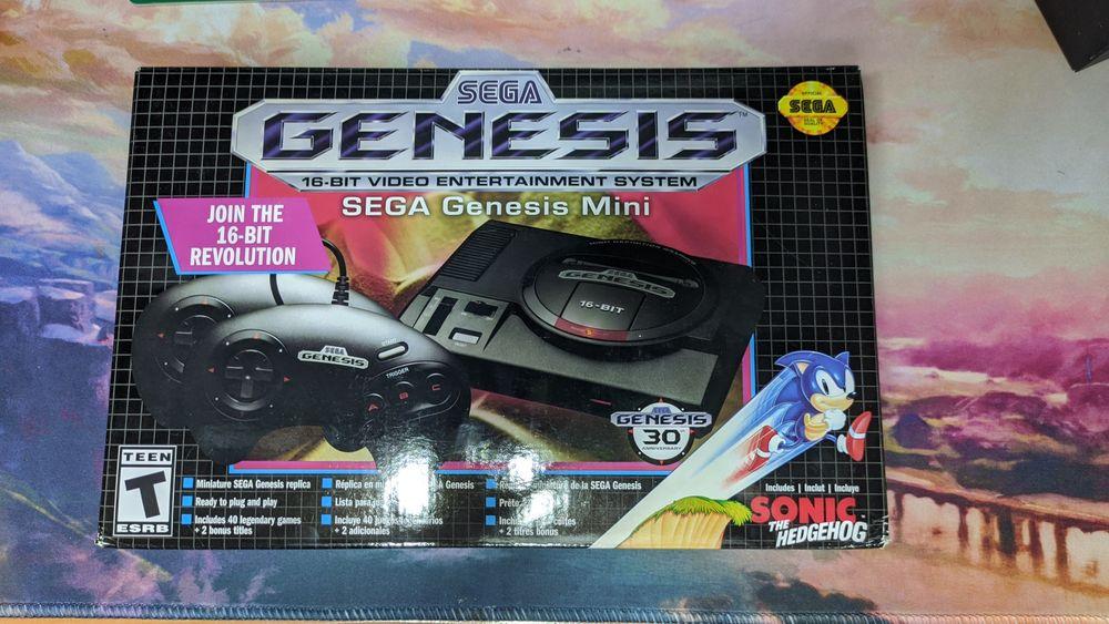 Новая Sega Genesis mini, Megadrive mini Дружковка - изображение 1