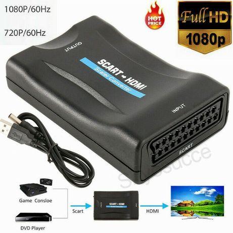 Conversor SCART para HDMI - HDMI para SCART