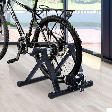 NOWY trenażer rowerowy rower treningowy czarny