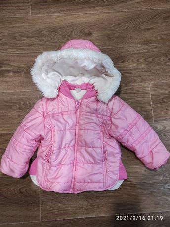 Отдам куртку осень-зима 92