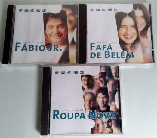 O Essencial De - Fábio Jr. + Fafá De Belém + Roupa Nova