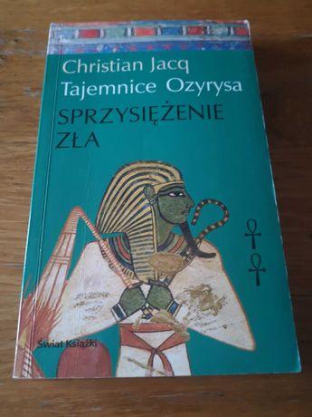 Christian Jacq Tajemnice Ozyrysa Sprzysieżenie zła