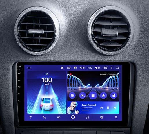 Radio nawigacja Audi A3 8P 2003 do 2012 ANDROID 8,1 WiFi Bluetooth GPS
