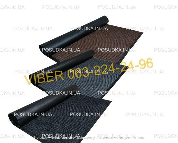 Коврик придверный грязезащитный на резиновой основе 5 размеров