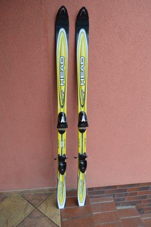 narty zjazdowe HEAD Carve S 160 cm + wiązania Tyrolia