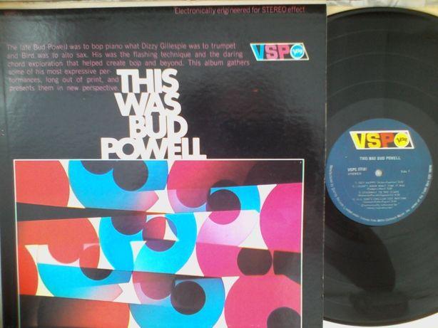 LP Jazz Bud Powell \ This Was Bud Powell пластинка