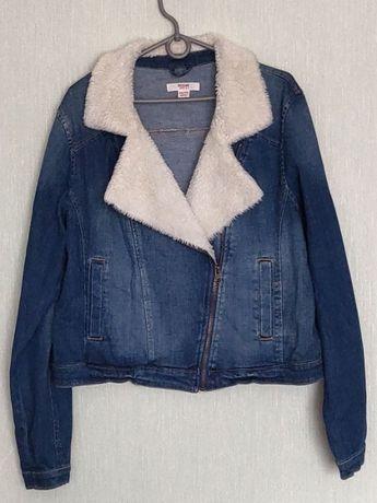 Женская джинсовая курточка Mossimo supply co ( из США)