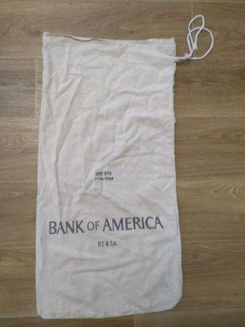 Мешок банковский.Банка Америки.