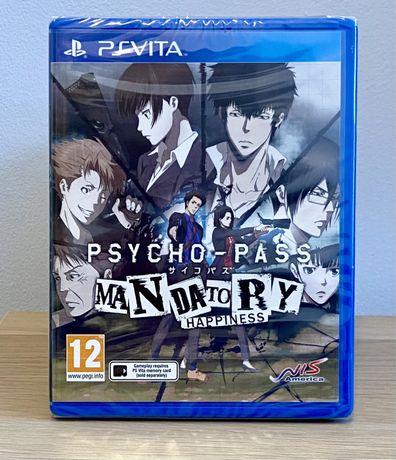 Psycho-Pass: Mandatory Happiness PlayStation Vita Nowa Folia
