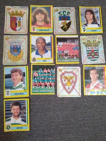 Cromos Autocolantes Futebol 95 / 96 (140,169,193,242,312)