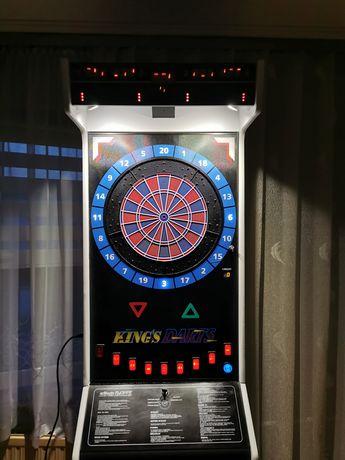KINGSDART automat dart rzutki lotki maszyna zarobkowa USZKODZONY