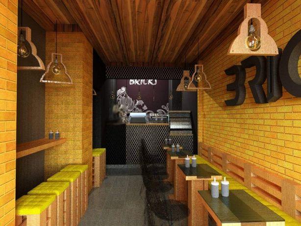 Готова робоча зона для кав'ярні/пабу/кафе