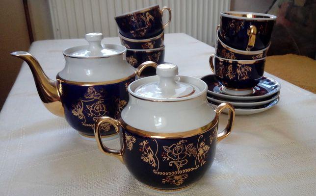 Rosyjski serwis do herbaty, kawy, 14 części