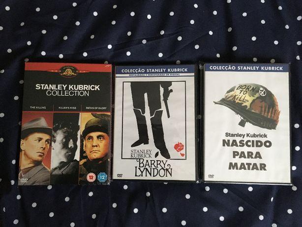 Coleção Stanley Kubrick 5x DVDs Killing Barry Lyndon Paths of Glory