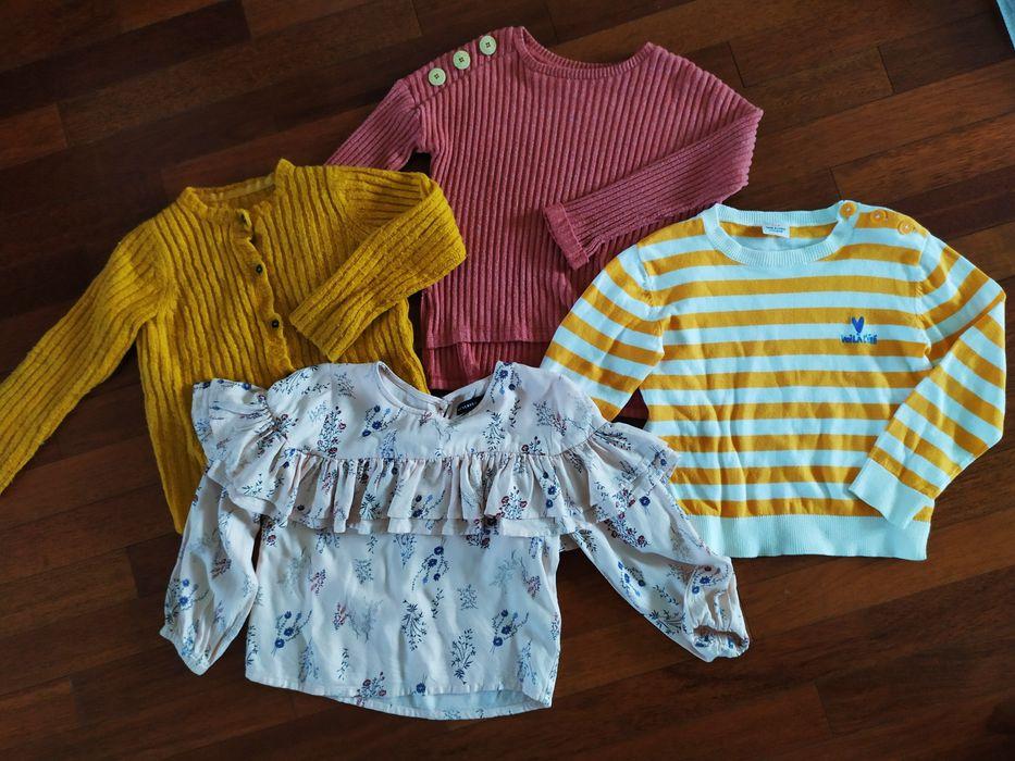 Sweterek * sweterki * koszula Zara Reserved r. 110 Góra Kalwaria - image 1