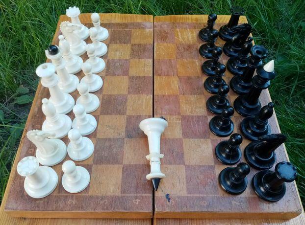 Шахматы карболитовые СССР