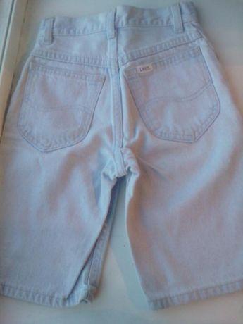 джинсы шорты фирмы lee, родные, на мальчика разм 8slim