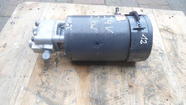 Pompa hydrauliczna 24V 2 kW wywrot kiper HESSELMAN